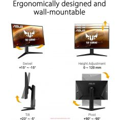 Asus Monitor TUF Gaming VG279QL1A [90LM05X0-B02120]