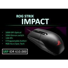 ASUS ROG MOUSE Strix Impact [90MP00P0-B0UA00]