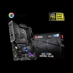MSI Motherboard MPG Z490 Gaming Plus [911-7C75-015]