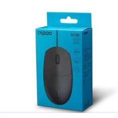Rapoo mouse Wired N100 [N100-BLACK]
