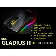 ASUS ROG MOUSE Gladius II [90MP00R0-B0UA00]