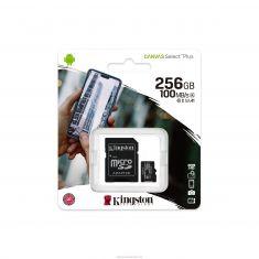 Kingston 256GB microSDXC Canvas Select Plus A1 Class 10 UHS-I adapter [SDCS2/256GB]