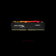 Kingston Memory 8GB 3200MHz DDR4 CL16 DIMM 1Rx8 HyperX FURY RGB [HX432C16FB3A/8]