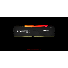 Kingston Memory 8GB 2666MHz DDR4 CL16 DIMM 1Rx8 HyperX FURY RGB [HX426C16FB3A/8]
