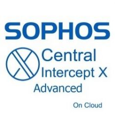 Sophos Central Intercept X Advanced - 50-99 USERS - 12 MOS