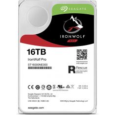 Seagate HDD Internal for NAS IronWolf Pro 16TB + Rescue [ST16000NE000]